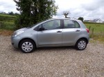 Toyota Yaris 1000 c-c 5 door 2011