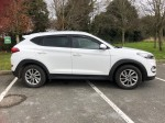 Hyundai Tucson white low mileage 161