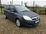 Opel/ vx zafira  low mileage  7 seater 1.7 tdi 2011
